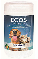 ECOS Natural Pet Wipes
