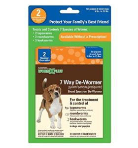 Sentry HC WormX Plus Dog Dewormer