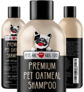 Pet Oatmeal Anti-Itch Shampoo & Conditioner In One! Smelly Puppy Dog